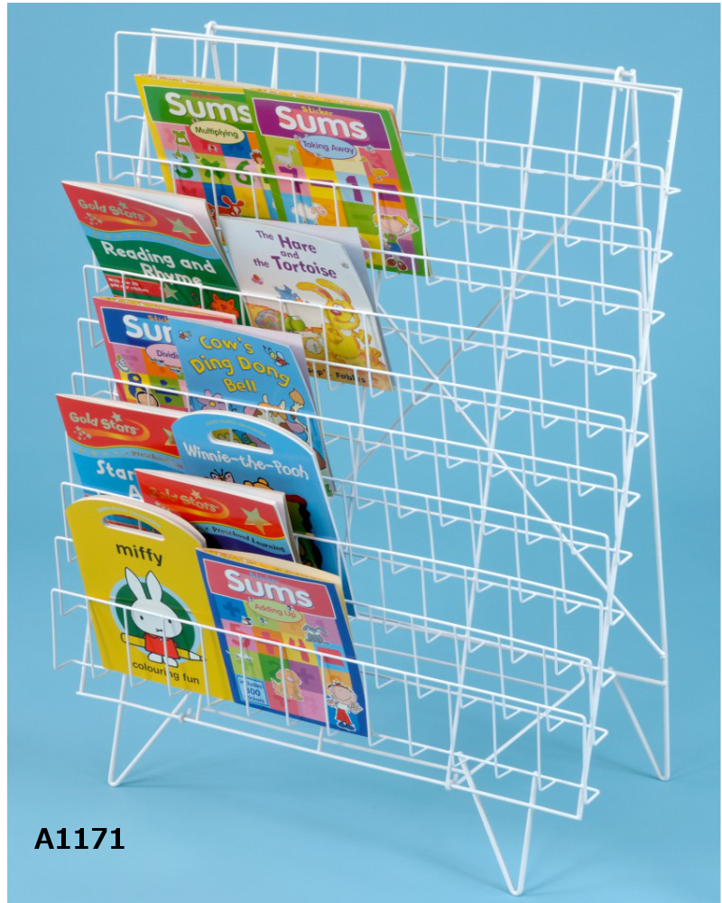Wire Book Racks Lauren James Office Interiors Ltd