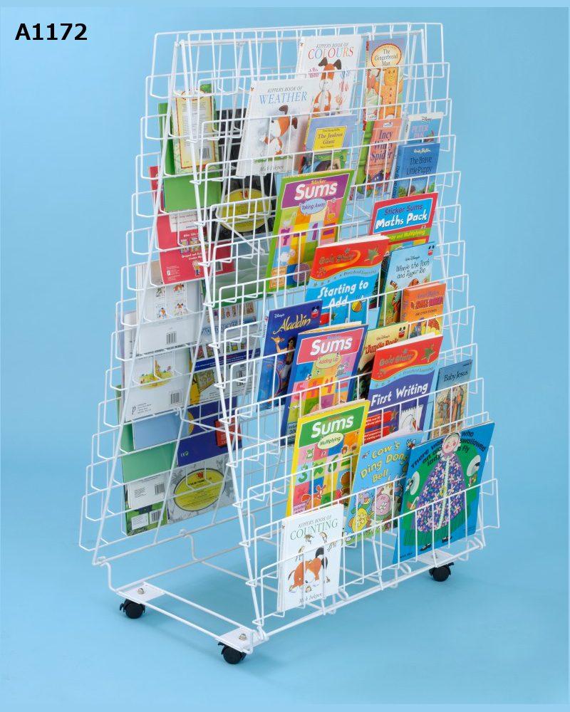 Wire book racks | Lauren James Office Interiors Ltd