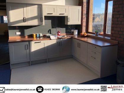 New staff kitchen at Christeyns Bradford