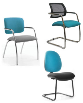 Stacking & Cantilever chairs