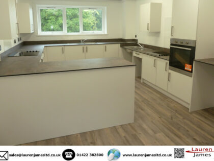 Kitchens for student accommodation Keele University