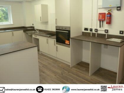 Kitchens for student accommodation Keele University