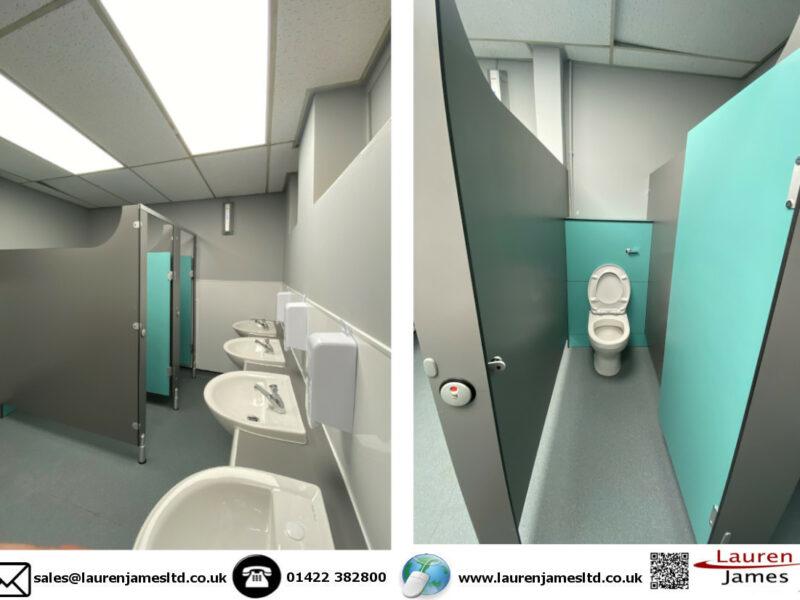New toilet facilities at Reinwood School